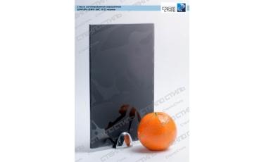 Стекло сатинированное окрашенное Шефлера (BWG-SMC-012) черное фото