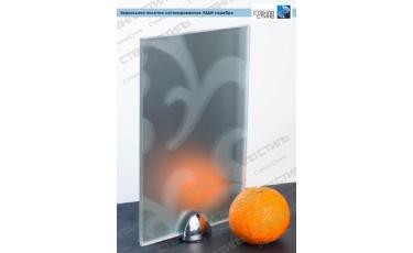 Зеркальное полотно сатинированное Леди серебро фото