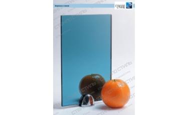 Зеркало синее фото