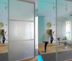 Стекло «Триплекс» «Smart», изменяющий прозрачность фото
