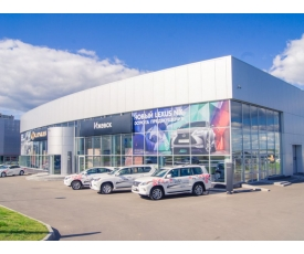 Автосалон «Lexus» фото