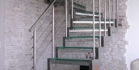 Стеклянные лестницы фото