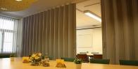 Раздвижные офисные перегородки фото