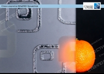 Стекло узорчатое Квадрикс бесцветное фото