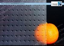 Стекло узорчатое Миллениум бесцветное фото