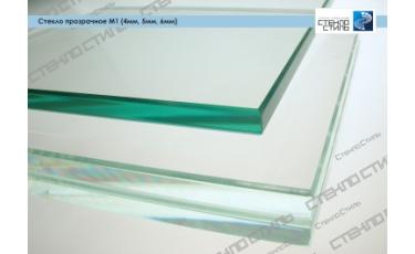 Стекло прозрачное М1 (4 мм, 5 мм, 6 мм, 8 мм) фото