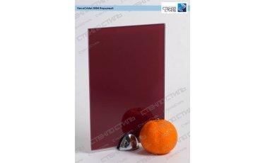 Стекло окрашенное DecoCristal 3004 бордовый фото