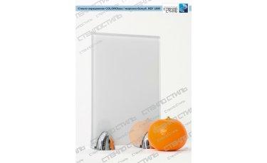 Стекло окрашенное COLORGlass REF 1605 (морозно-белый) фото