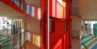 Стекло «Триплекс» с цветной пленкой фото