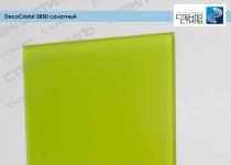 Стекло окрашенное DecoCristal 3850 салатный фото