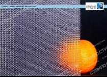 Стекло узорчатое Кризет бесцветное фото