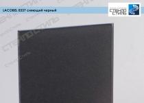 Стекло окрашенное Lacobel 0337 сияющий черный фото