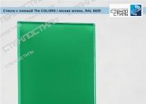 """Стекло с плёнкой """"The Colors"""" RAL 6029 (лесная зелень) фото"""