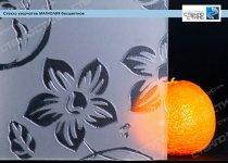 Стекло узорчатое Магнолия бесцветное фото