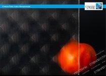Стекло узорчатое Роял гласс бесцветное фото